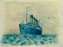 RMS Olympic (The Mem'ries of Her) by SammfeatBlueheart