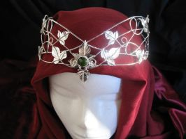 Forest Ivy Moon Headpiece by camias