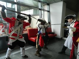 MCM Telford 2014 - Assassins Creed by MJ-Cosplay