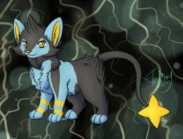 Fluffy Luxio by Tremlin