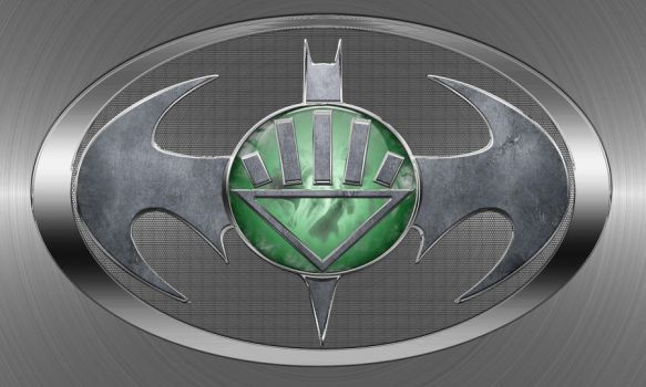 Black Lantern Batman Logo by joshepi2010