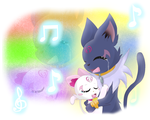 Melody of Friendship by pichu-berry