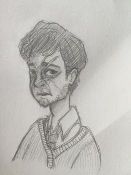 Remus Lupin by phoebedoodles