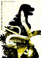 G18 Godzilla Vs King Ghidorah by Designosaurus-Rex