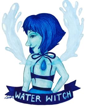 Water Witch by leelamahonart