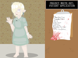 PROJECT WHITEOUT APPLICATION: Betty Coven by InvaderIka