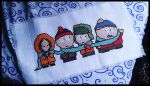 South Park Cross Stitch by BrainLessGirl