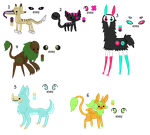 Point Adoptables batch3- open by to-much-a-thing