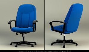 Office Chair Comp by EtherealProject