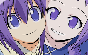 Nodoka and Yue smile by Lovekuja