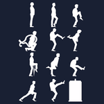 T-Shirt: The TARDIS of Silly Walks by trekvix