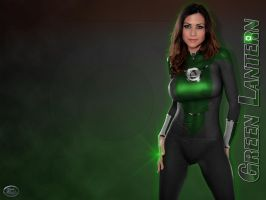 A Female Green Lantern Version by wolverine1607