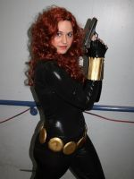 Cosplay Black Widow At ComiCONN by Wilcox660