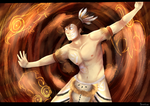 Re-draw Mitologia pascuense by AnnaK1332