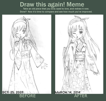Draw This Again! Meme by mariahwendi