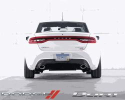 2013 Dodge Dart White by CitizenXCreation