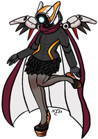 Gaia Avatar Chick by SalemTheCat23