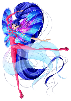 Musa - Dreamix - For SilverWinx by Feeleam