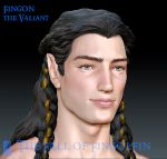 Fingon The Valiant - Painted Bust by Breogan