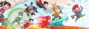 Scribblenauts JLA by hubie-the-cat