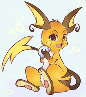 Raichu Donut by CoffeeChicken