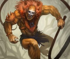 Beastman evil Henchman of Skeletor by Odinoir