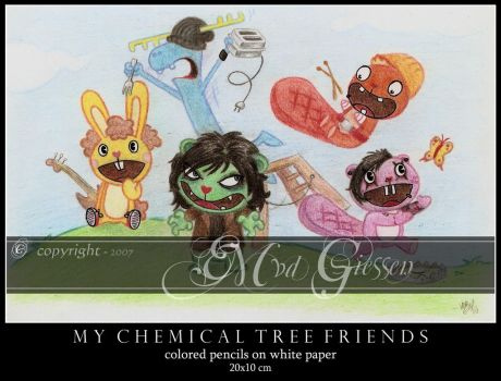MY CHEMICAL TREE FRIENDS by mcr-raven