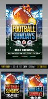 Football Flyer Template by AnotherBcreation