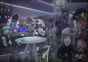 YCH Mass Effect Bar by NuclearZombie18