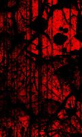The Dead Travel Fast in Red by Imoa