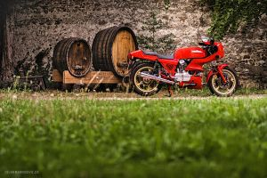 Red Ducati by AmericanMuscle