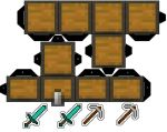 Minecraft Chest Cubee by mikeyplater