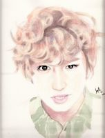Chanyeol Watercolors by Fantastika