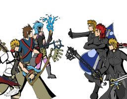 Trios Collide by LordKnightXiron