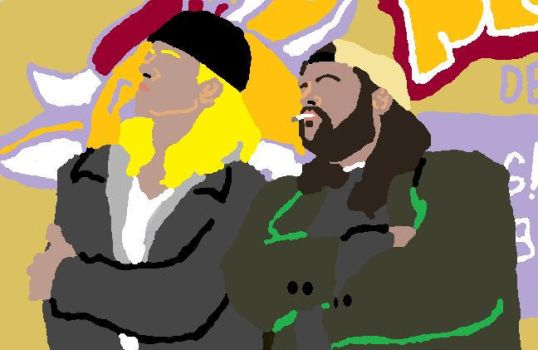Jay and Silent Bob by writingsmylife