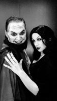 The Man Who Laughs and Vampira by megmurrderher