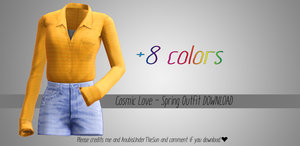 Cosmic Love ~ Spring Outfit [MMD][DL] by Deiroko