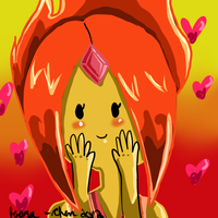 Flame Princess by NostalgicHummingbird