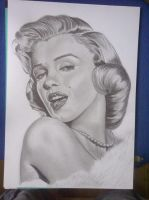 Marylin Monroe by JMacantsionnaigh