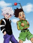 Gon and Killua by YellowMiracle