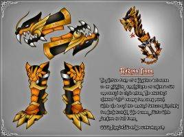 Gazing Tiger Keyblade Transformation (2017) by ExusiaSword