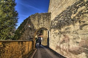 Old walls by J222R