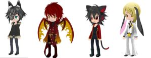 CLOSED Free Selfy Adoptables - Theme: Halfbreed(M) by Mirror-Adopts