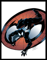 Spidey Black by Furlani