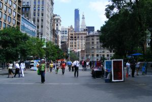 Union Square West by psychowolf21