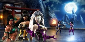 Mortal Kombat Fight Scene 2 by AdrianJames