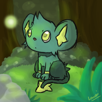 Gift : Shinx Speedpaint by Lauzi