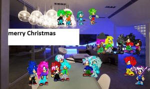 Christmas Poster by 100hypersonic