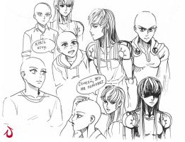 Gender-bender Onepunch-man (2) by Shia-Rina