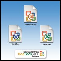 MS Office 2003 Dockpack by weboso